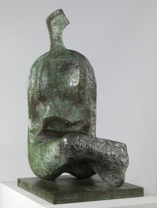 Seated Woman: Thin Neck 1961 Henry Moore OM, CH 1898-1986 Presented by the artist 1978 http://www.tate.org.uk/art/work/T02286